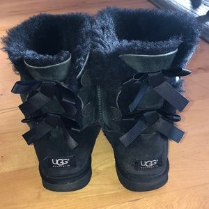 UGG Shoes - Bailey bow UGG boots 7